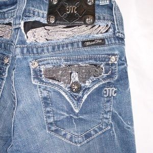 B2-0894 Miss Me Jeans Flap Pocket Size 27